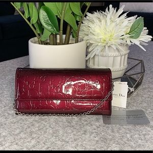 Dior purse Trotter Chain Wallet Leather